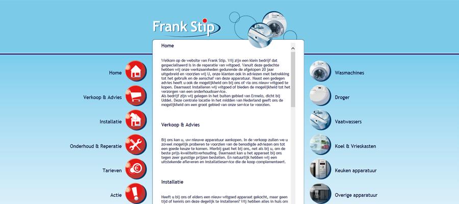 Informatieve bedrijfsservice website.